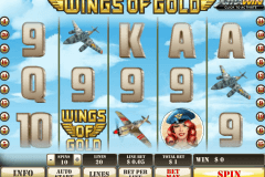 Wings Of Gold Slot Machine